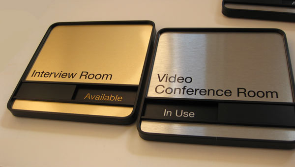 Meeting Room Door Signs Add a Bit of Style to Your Executive Offices