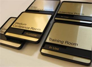 Meeting Room Signs, Classified Sliding Message Signs & Conference Room Signs