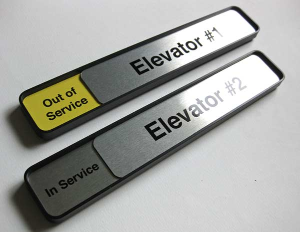 Elevator Signs & Custom Office Sign Designs